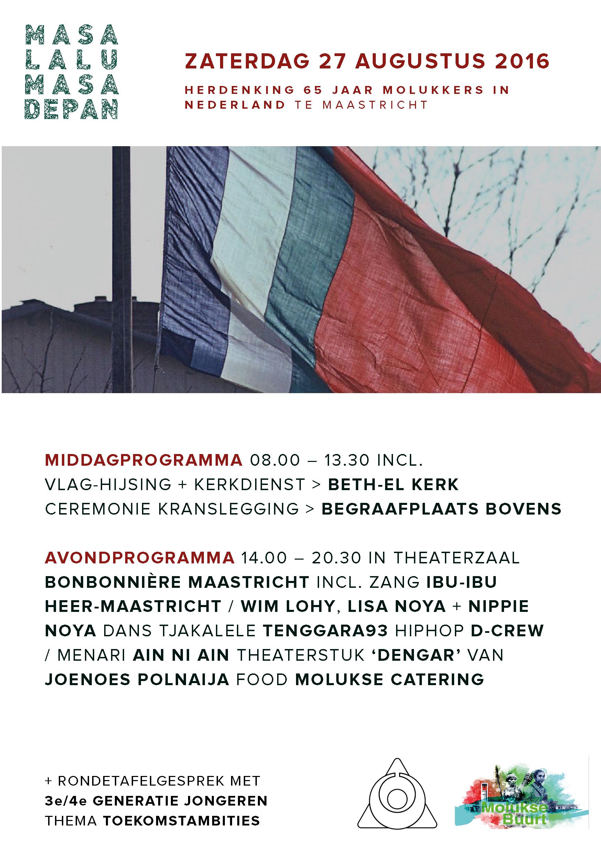 Herdenking 65 jaar Molukkers in Nederland