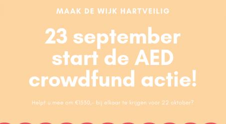 AED actie van start!