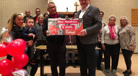 Bestuurslid Max Hehalatu ster van Maastricht